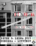 Plakát - PROJEKCE: MEZI PANELAMA