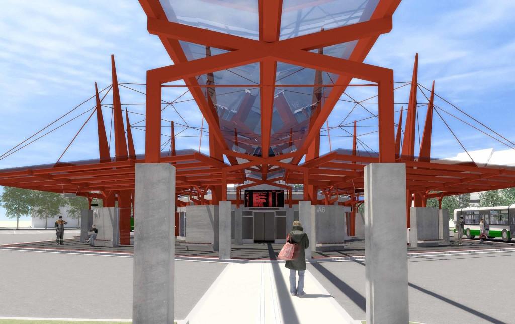 Dopravní terminál Cheb - předimenzovaná stavba v ceně 110 mil. Kč
