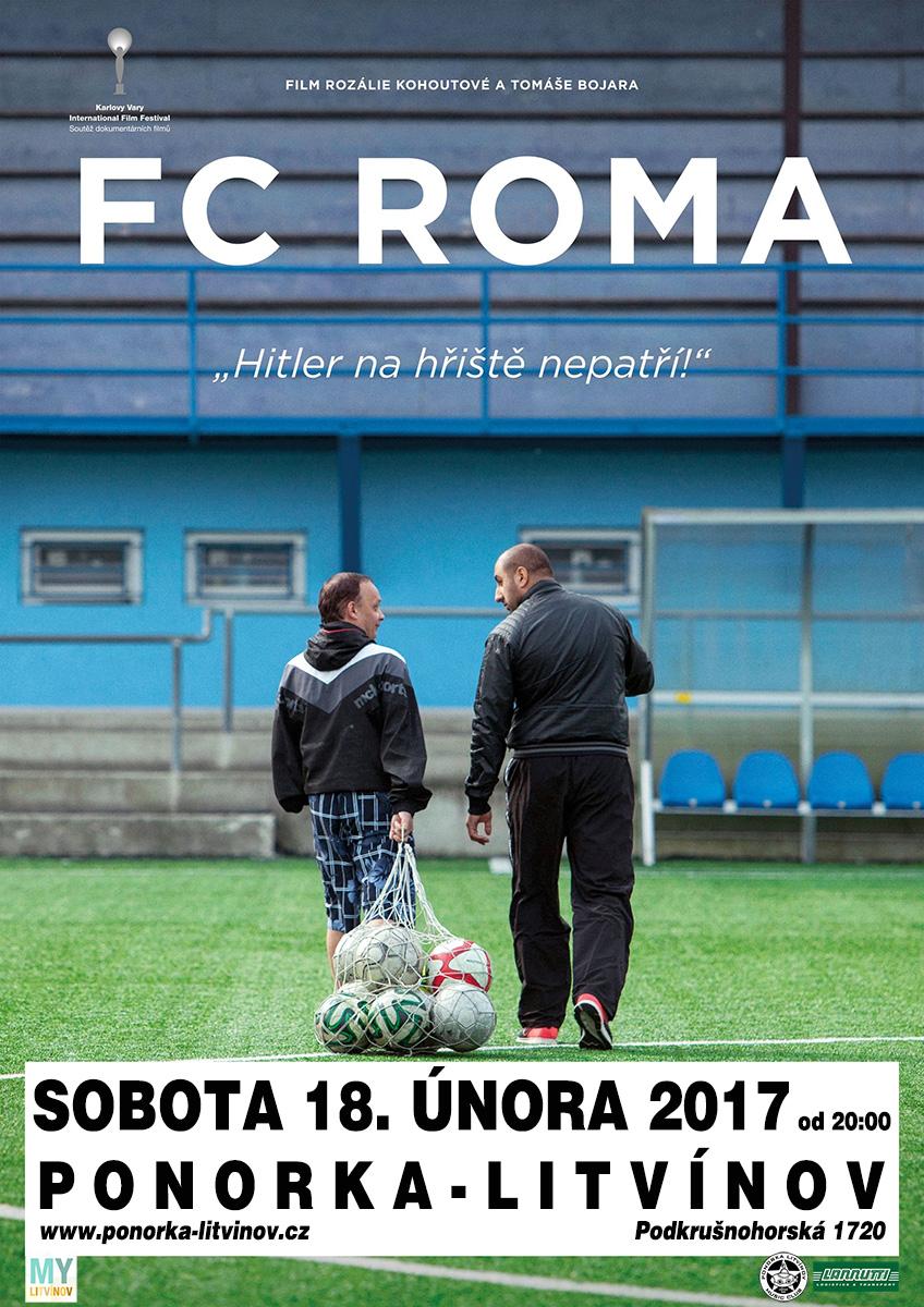 Projekce filmu  FC Roma